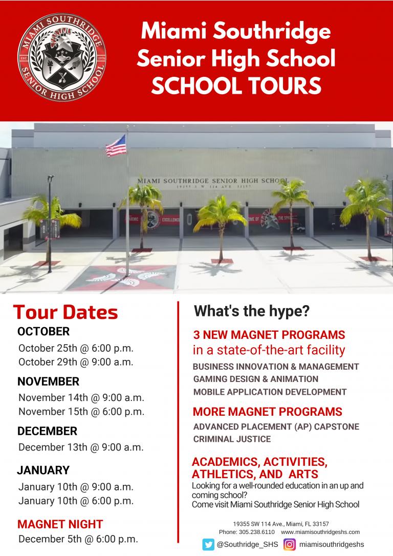 Southridge Tour Dates