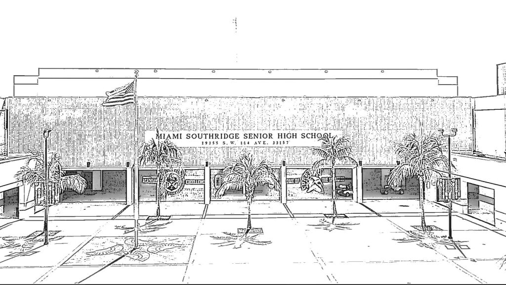 Southridge Front Sketch
