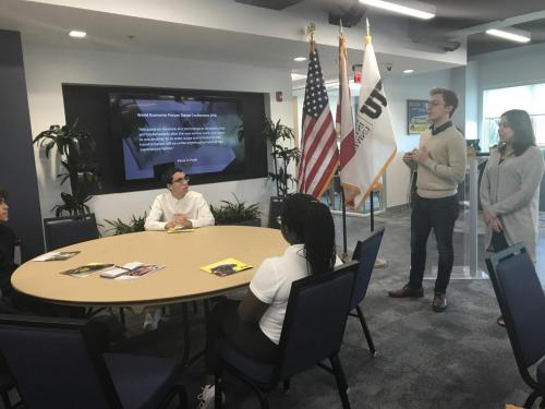 Southridge SHS Visits FIU School of Business and StartUp FIU 10.22.18