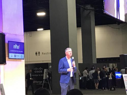 Business Innovation and Management Magnet students attended the eMerge Americas Convention