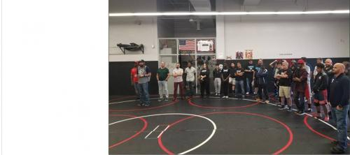 Wrestling Room Dedication 2019